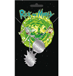 Rick and Morty Dog Tag Necklace 282610