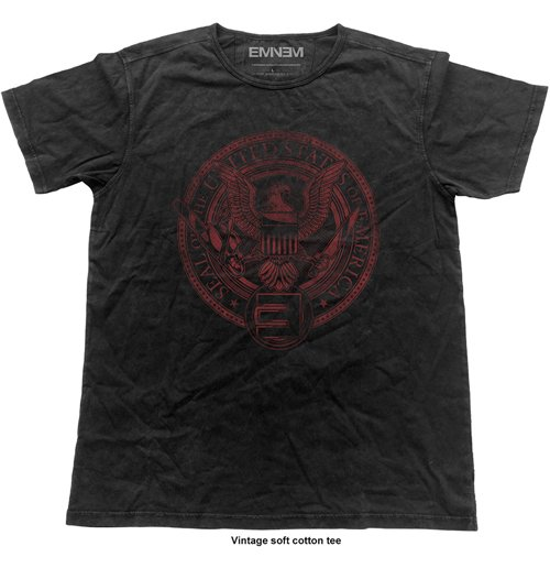Eminem Men's Fashion Tee: Emerica Seal (Vintage Finish)