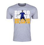 Diego Costa Chelsea Goalscorer T-Shirt (Grey) - Kids
