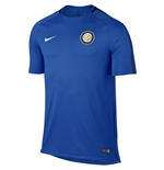 2017-2018 Inter Milan Nike Training Shirt (Blue)