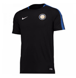 2017-2018 Inter Milan Nike Training Shirt (Black)