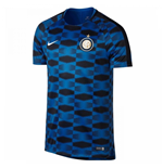 2017-2018 Inter Milan Nike Pre-Match Training Shirt (Blue)