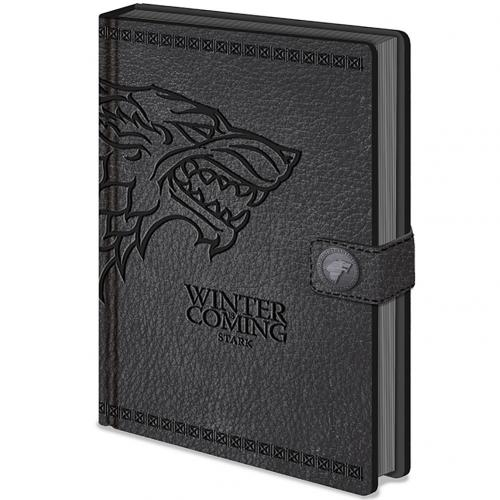 Game Of Thrones Premium Notebook Stark