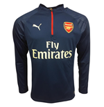 2017-2018 Arsenal Puma Half Zip Training Top (Limoges)