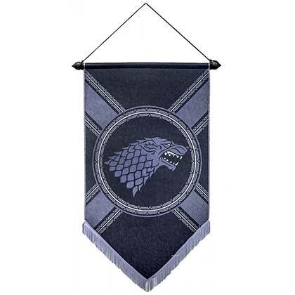 GAME OF THRONES Stark Banner
