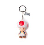 Nintendo - Toad 3D Rubber Keychain