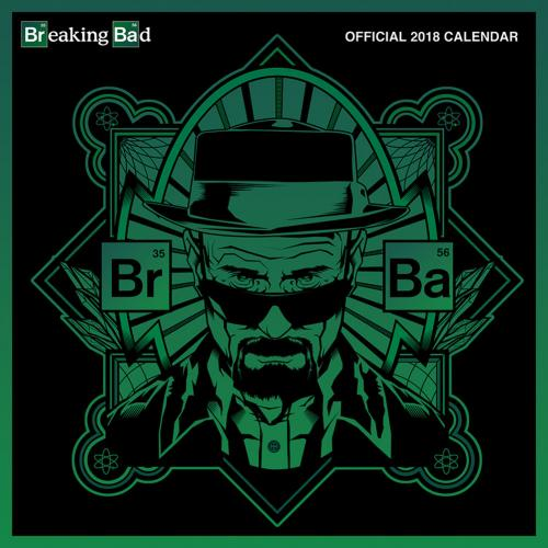 Breaking Bad Calendar 2018