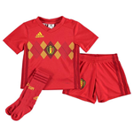 2018-2019 Belgium Home Adidas Mini Kit