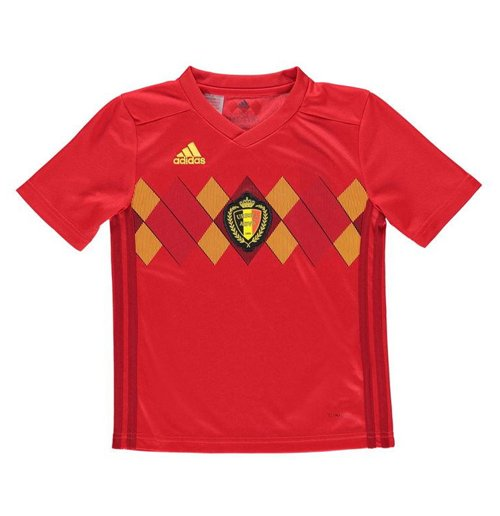 2018-2019 Belgium Home Adidas Football Shirt (Kids)