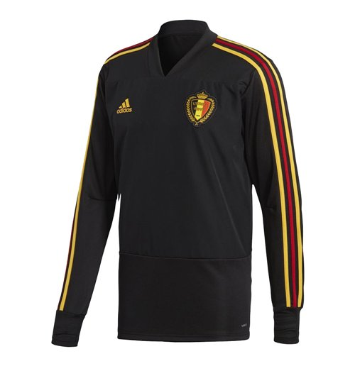 2018-2019 Belgium Adidas Training Top (Black)