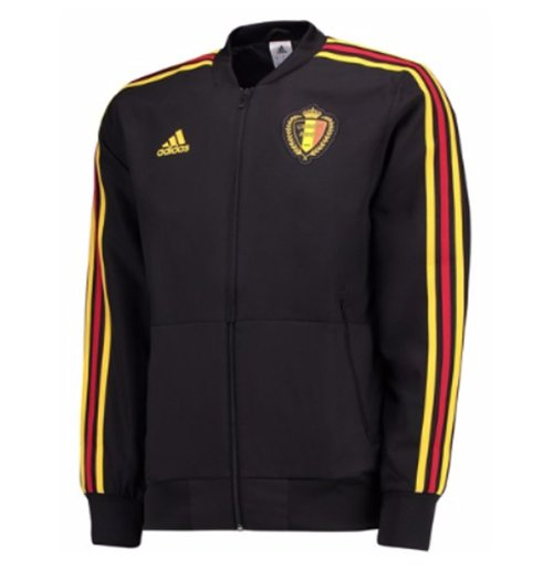 2018-2019 Belgium Adidas Presentation Jacket (Black) - Kids