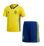 2018-2019 Sweden Home Adidas Mini Kit