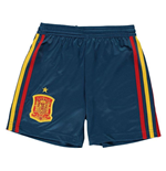 2018-2019 Spain Home Adidas Football Shorts (Kids)