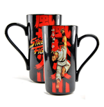 Street Fighter Latte-Macchiato Mug Ryu
