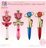 Sailor Moon Mini-Replicas Miniaturely Tablet Case Vol. 6 10 cm Assortment (6)