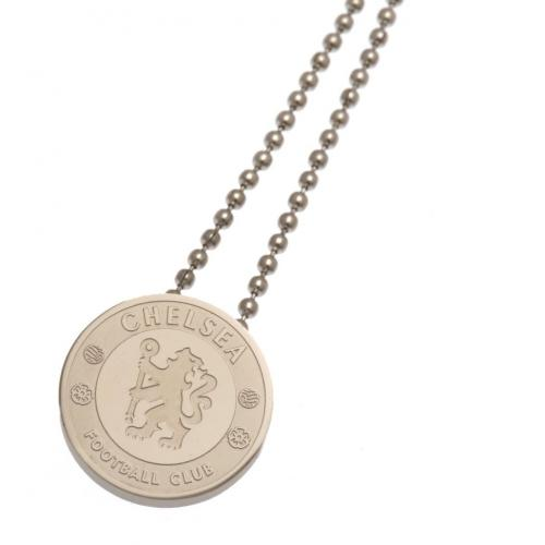 Chelsea F.C. Stainless Steel Pendant & Chain