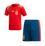 2018-2019 Spain Home Adidas Mini Kit
