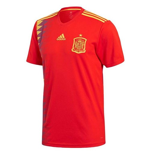 2018-2019 Spain Home Adidas Football Shirt