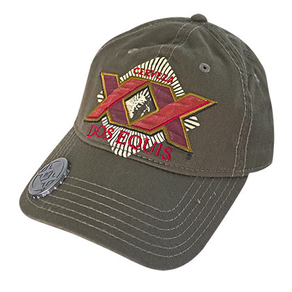Dos equis brown bottle opener hat for only at for Dos equis t shirt urban outfitters