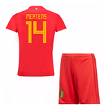 2018-19 Belgium Home Mini Kit (Mertens 14)