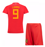 2018-19 Belgium Home Mini Kit (Lukaku 9)