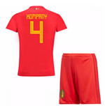 2018-19 Belgium Home Mini Kit (Kompany 4)