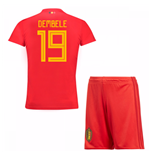 2018-19 Belgium Home Mini Kit (Dembele 19)