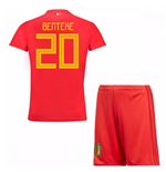 2018-19 Belgium Home Mini Kit (Benteke 20)