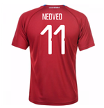 2018-19 Czech Republic Home Shirt (Nedved 11) - Kids