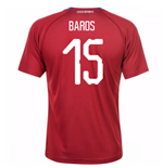 2018-19 Czech Republic Home Shirt (Baros 15) - Kids