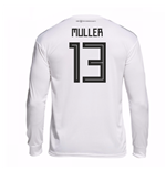 2018-19 Germany Home Long Sleeve Shirt (Muller 13)