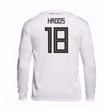 2018-19 Germany Home Long Sleeve Shirt (Kroos 18)