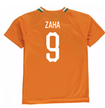 2018-19 Ivory Coast Home Shirt (Zaha 9) - Kids
