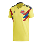 2018-2019 Colombia Home Adidas Football Shirt