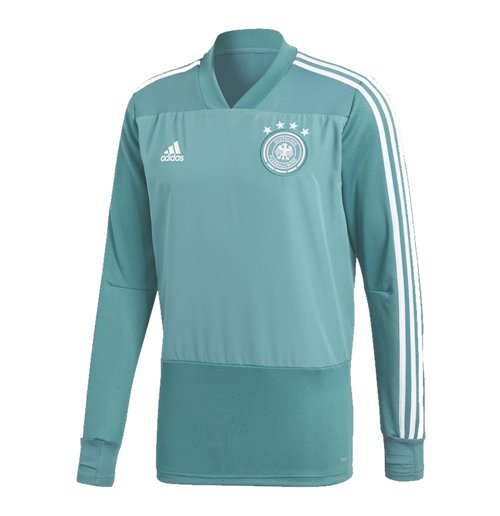 2018-2019 Germany Adidas Training Top (Green) - Kids