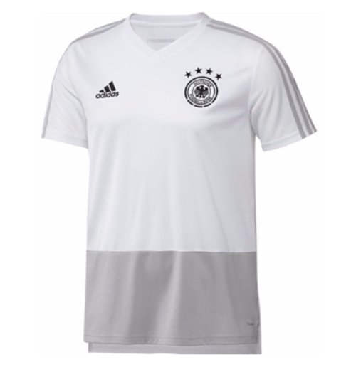79deec642 Buy Official 2018-2019 Germany Adidas Training Shirt (White) - Kids