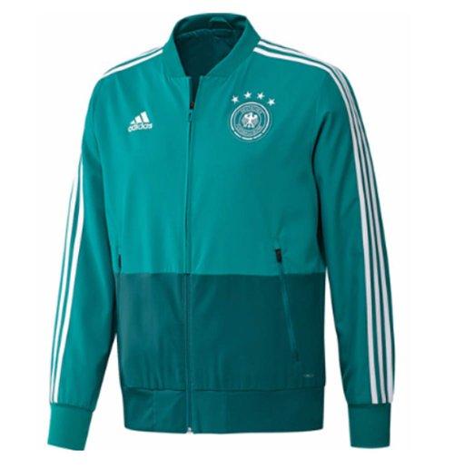 2018 2019 Germany Adidas Presentation Jacket Green