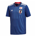 2018-2019 Japan Home Adidas Football Shirt (Kids)