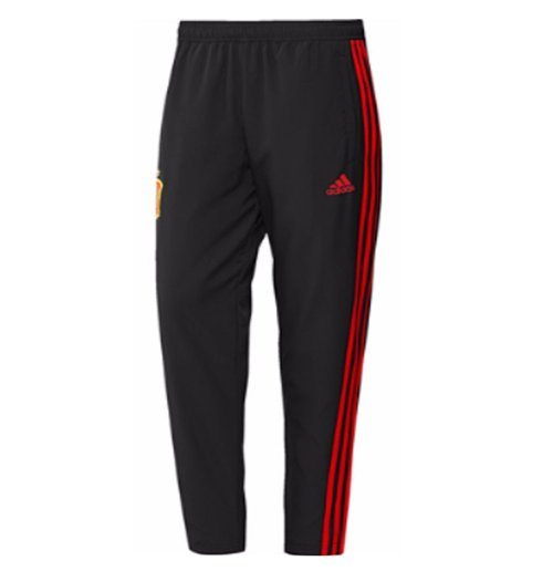 2018-2019 Spain Adidas Woven Pants (Black)