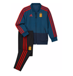 2018-2019 Spain Adidas Mini Presentation Tracksuit (Blue) - Infants