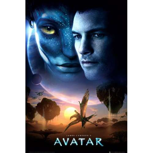 Avatar 2 Poster: Official Avatar Poster: Buy Online On Offer