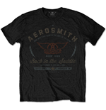 Aerosmith Men's Tee: Back in the Saddle