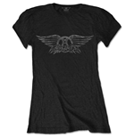 Aerosmith Ladies Tee: Vintage Logo