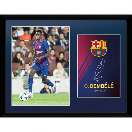 F.C. Barcelona Picture Dembele 16 x 12
