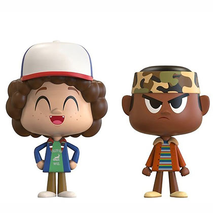 STRANGER THINGS Funko Pop Dustin And Lucas Vynl Figure Set