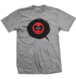 Marvel Comics Men's Tee: Deadpool Bubble Icon