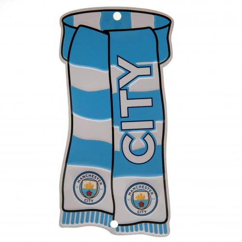 Manchester City F.C. Show Your Colours Window Sign