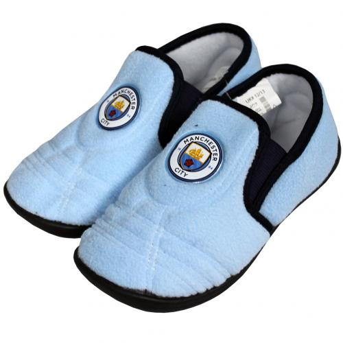 Manchester City F.C. Junior Slippers 1/2