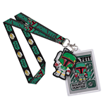 Star Wars POP! Lanyard with Rubber Keychain Boba Fett & Backer Card