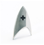 Star Trek Discovery Replica 1/1 Magnetic Starfleet Medical Division Badge